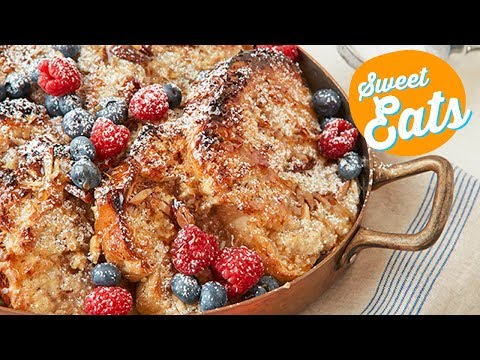 Coconut Almond French Toast Casserole | Food Network