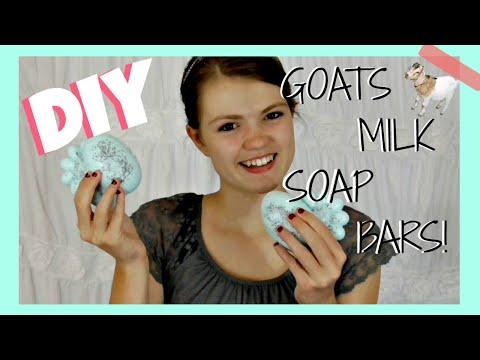 DIY Goats Milk Soap Bars!