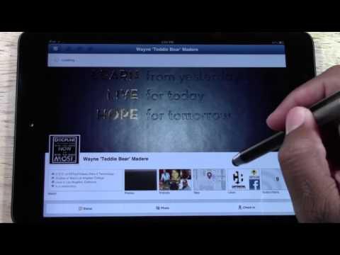 Facebook on the iPad Mini | H2TechVideos