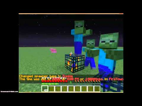 How To Change a Spawner in Minecraft