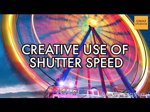 DSLR Photography Tutorials - How does Shutter Speed Affect Photographs? - Episode 6 | GMax Studios