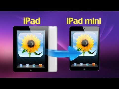 iPad Photos Manager: How to Transfer Photos from iPad to iPad Mini without iTunes