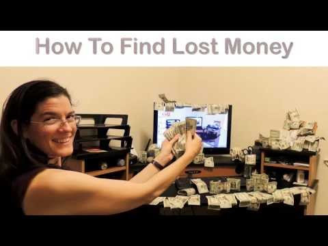 The Secret To Finding Lost Money