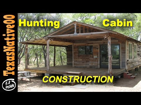 Hunting Cabin Construction