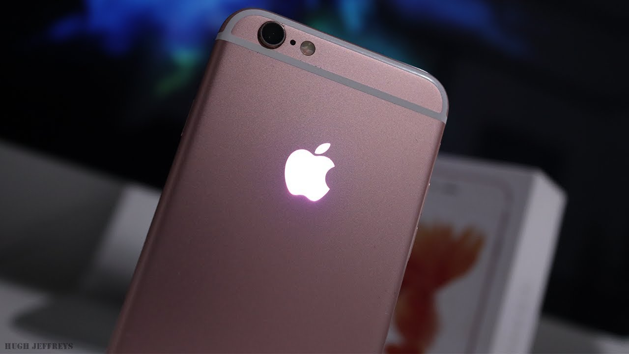 Custom [RGB] Multi Colour Glowing Apple Logo for iPhone!