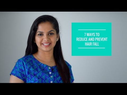 7 ways to reduce & prevent hair fall | Dr. Arpitha Komanapalli