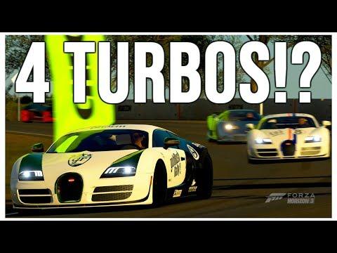 Forza Horizon 3 Online Free Roam In Bugatti's! Exotic Punch Buggie or Beautiful Super Car?!