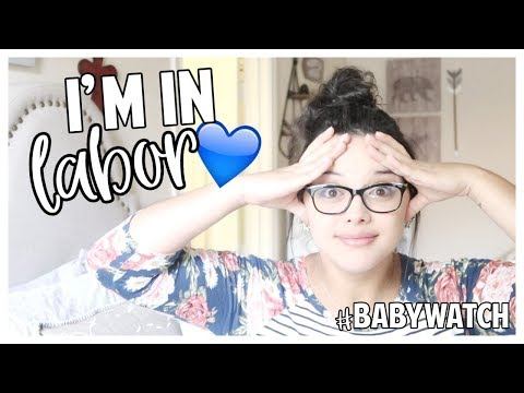 I'm In Labor! | Baby Watch | Baby #4