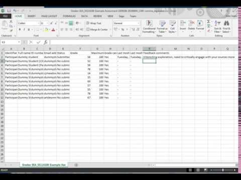 #429 Easy Moodle mark entry with the offline marking worksheet