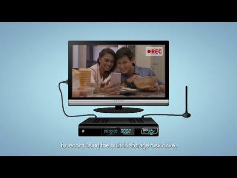 Digital TV Instructional Video (English)