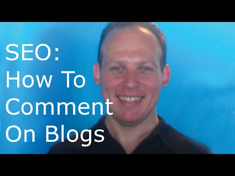 Blog commenting: Does posting blog comments and links help SEO?