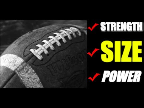 Training for Football [Build Explosive Strength & Size]