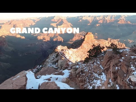 Arizona Utah Vlog 2 Grand Canyon South Kaibab Trail Bright Angel Trail and campground