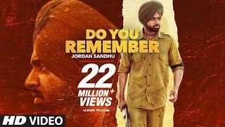 Do You Remember | Jordan Sandhu | Bunty Bains | Desi Crew | Nikki Kaur | Stalinveer | Punjabi Songs