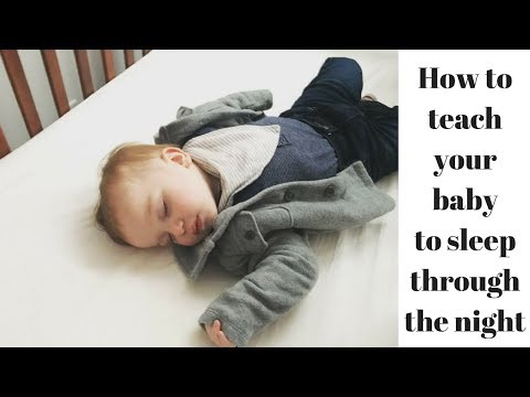 I Sleep Trained My Baby