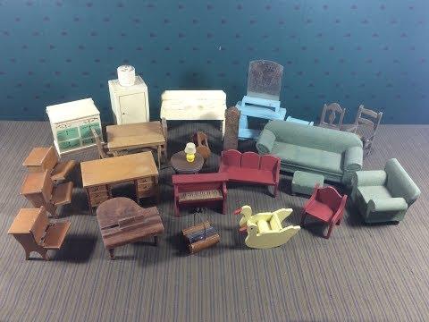 Dollhouse Furniture - Vintage 1930s Strombecker, Etc. - Auction Haul #2