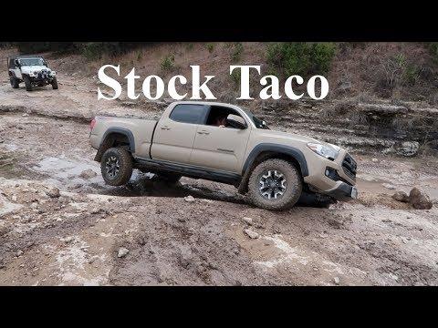 Stock Toyota Tacoma Rock Crawling at Hidden Falls Adventure Park - Unedited - S2E38
