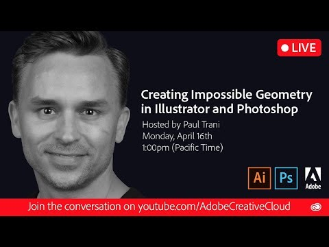 Creating Impossible Geometry in Illustrator and Photoshop