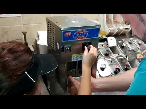 Making a Chocolate Xtreme Blizzard with a Little Something Extra