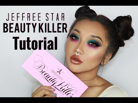 Jeffrey Star BEAUTY KILLER Pallet || Review and Demo