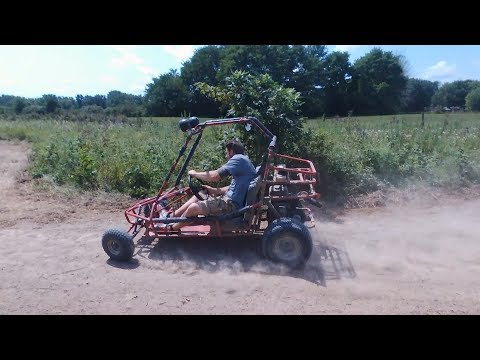Gokart dirt track racing