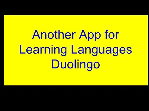App recommendation for learning Spanish