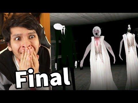 LA FAMILIA DE GRANNY !! FINAL SLENDRINA Y SLENDERMAN - Slendrina (Horror Game)