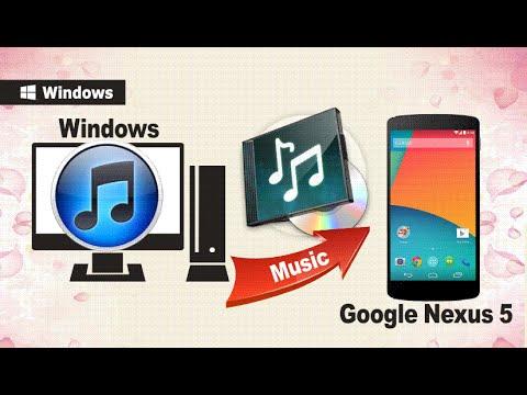 [iTunes to Nexus 5] How to Transfer/Sync iTunes Music to Google Nexus 5 / Nexus 6 Directly