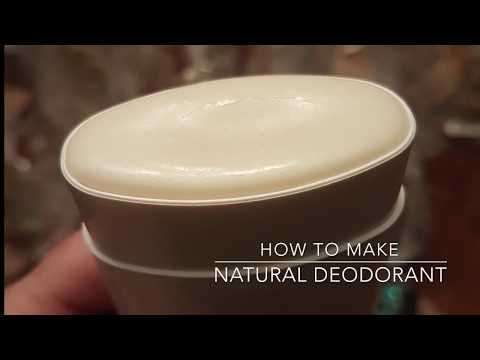 How to Make Natural Deodorant