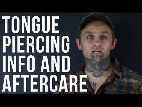 Tongue Piercing Information & Aftercare | UrbanBodyJewelry.com