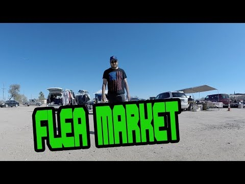 MAKING MONEY WORKING 5 HOURS AT THE FLEA MARKET