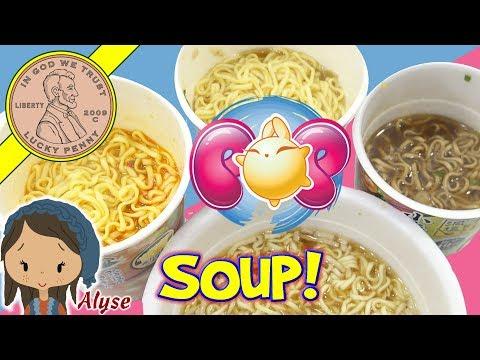 Unboxing ZenPop Ramen Noodles Subscription Box - Tasting 9 Cup & Bowl Soups!