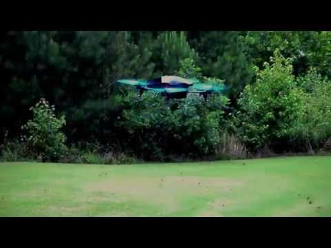 Parrot AR Drone 2.0 Power Edition Demonstration