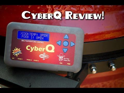 BBQ Guru CyberQ Unbox and Review With a Kamado Joe