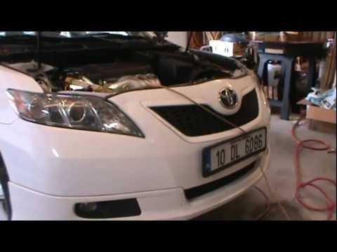 2007 Camry Serpentine Belt Replace - 4 Cyl, 2.4 liter engine
