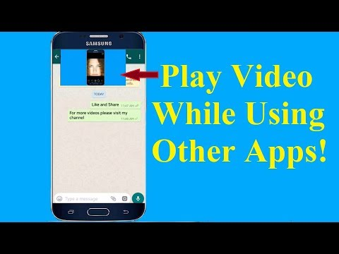 Android Tricks to Play Video in the Background