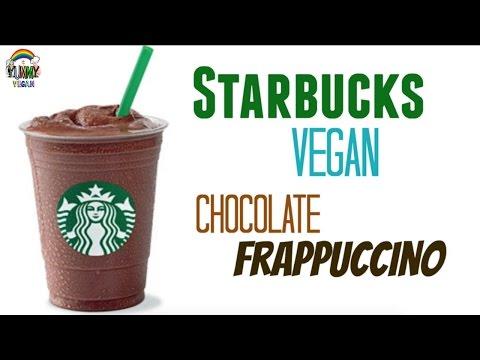 Chocolate Frappuccino   YUMMY VEGAN