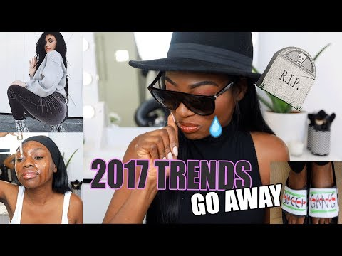 THIS HAS TO STOP! INSTAGRAM TRENDS I HATED IN 2017 AND NEED TO DIE
