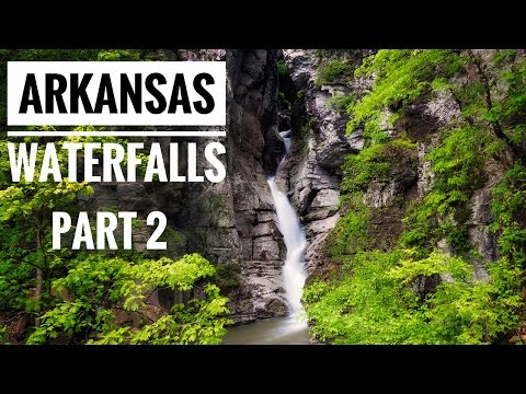 Arkansas Waterfalls - Part 2