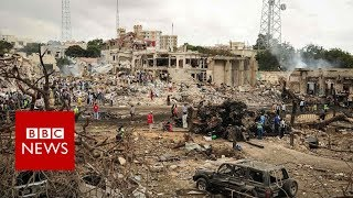 Somalia: At least 230 dead in Mogadishu blast - BBC News