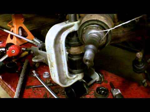 1998 GMC K1500 Upper and Lower Ball Joint Replacement
