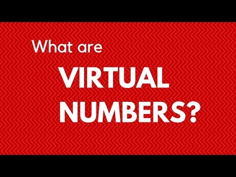 Virtual numbers - what are they?