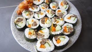 Download CÁCH LÀM KIMBAP HÀN QUỐC - How to make Korean Kimbap (Gimbap) | Episode 95 | Taste From Home Video