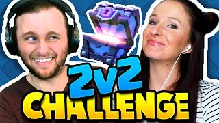 Clash Royale | OWNING FACE IN THE 2v2 CHALLENGE! (silly decks)