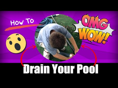 How To Drain Your Pool Vacuum Hose