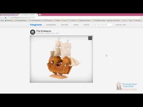 13 (of 13) - How to Share your Tinkercad Design with Others