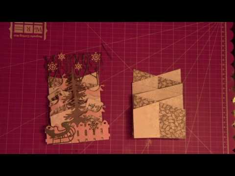 How to make 3D cascade cards