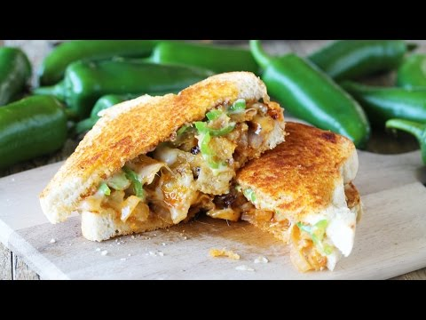 The Ultimate Spicy Grilled Cheese Sandwich