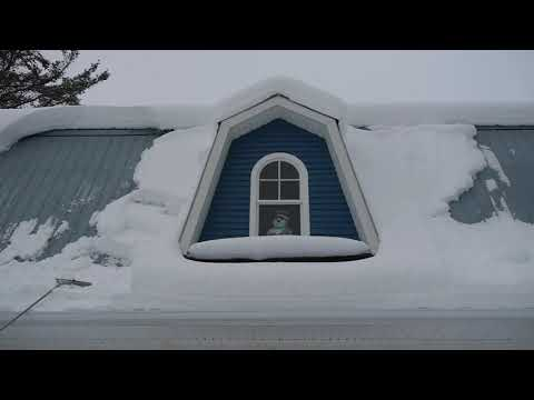 Roof Rake for Snow Removal