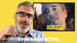 Pro Acting Coach Breaks Down 17 Dying Scenes | Good & Bad Acting